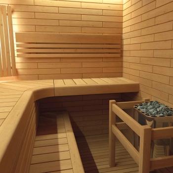 saunabankmodul erle. Black Bedroom Furniture Sets. Home Design Ideas