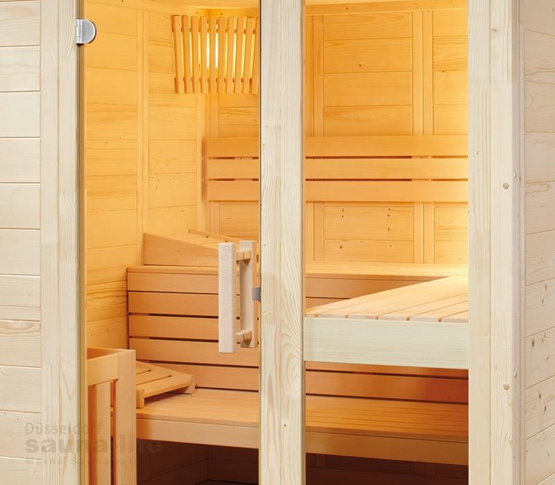 saunakabine komfort small. Black Bedroom Furniture Sets. Home Design Ideas