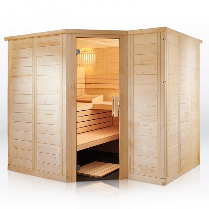 saunakabine polaris large. Black Bedroom Furniture Sets. Home Design Ideas