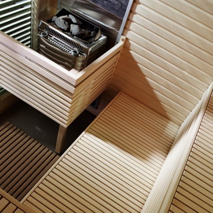 saunakabine rubic s sauna life sauna saunaofen. Black Bedroom Furniture Sets. Home Design Ideas