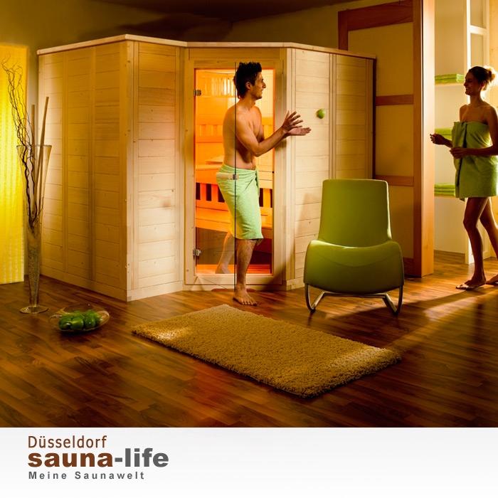 saunakabine polaris large links. Black Bedroom Furniture Sets. Home Design Ideas