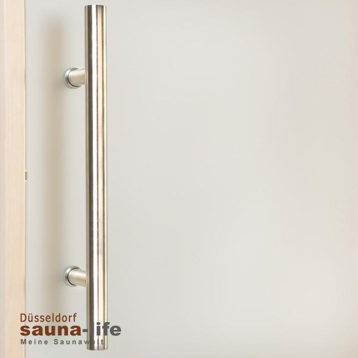Saunatür Glas saunadoor bianco premium 6 x 19