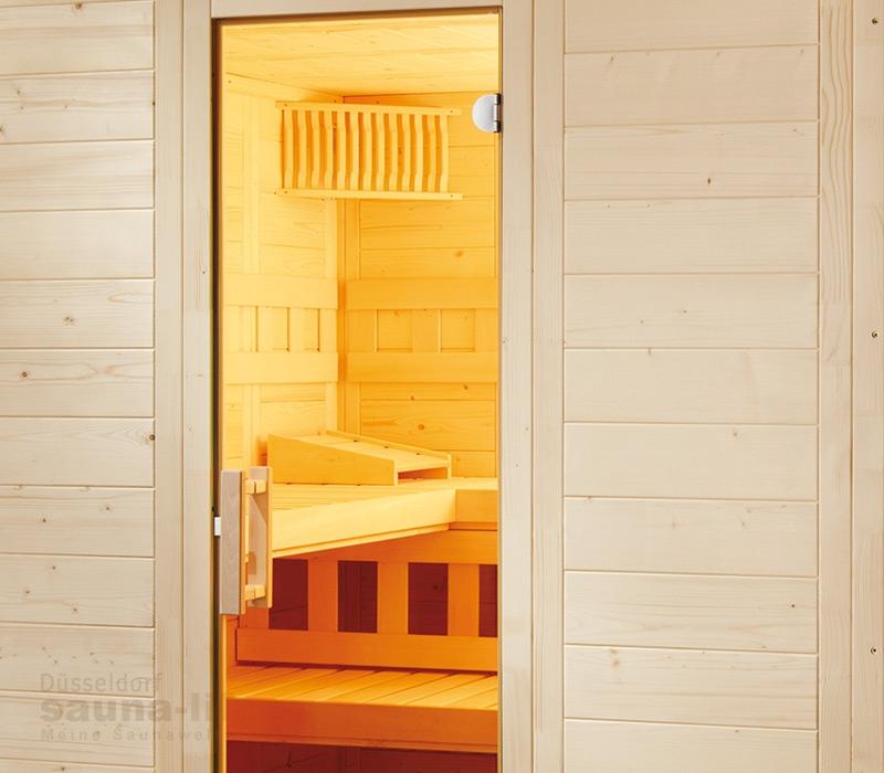 saunakabine wellfun large. Black Bedroom Furniture Sets. Home Design Ideas