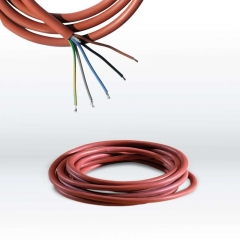 Silicone connection cable (5 x 2,5 mm²)