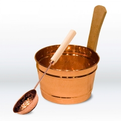 Sauna Set COPPER, 2-parts